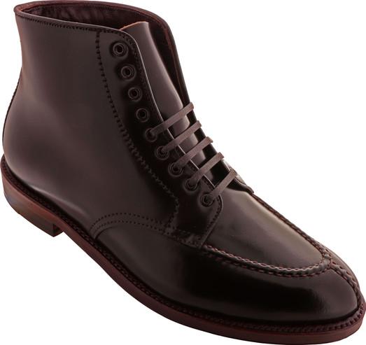 Alden Men's D8834 - Handsewn NST 9 Eyelet Boot - Color 8-Antique