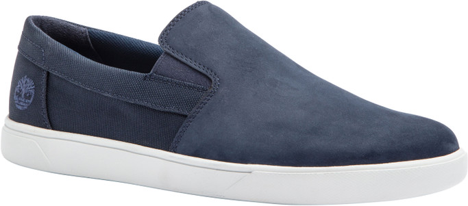 Timberland Men's Groveton Slip On  TB0A25PZ019 Navy Nubuck