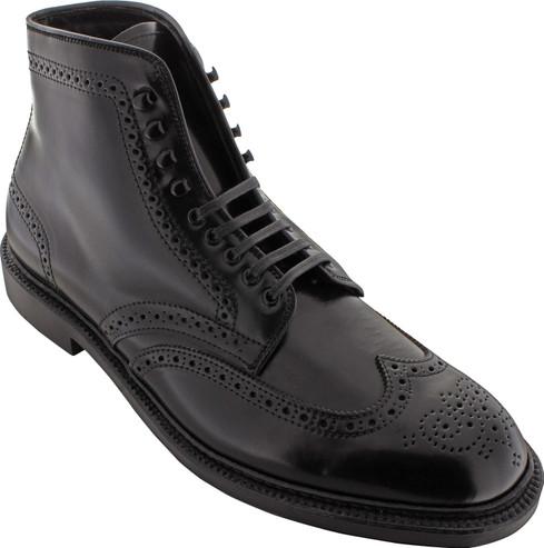 Alden Men's 4465H - Wing Tip Boot - Black Shell Cordovan - Main Image