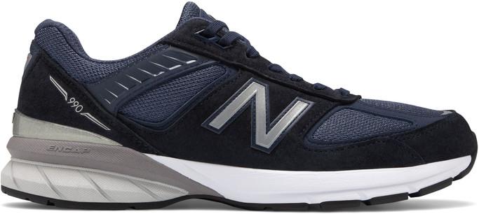 New Balance Men's M990v5 M990NV5 Navy-Silver - Main Image