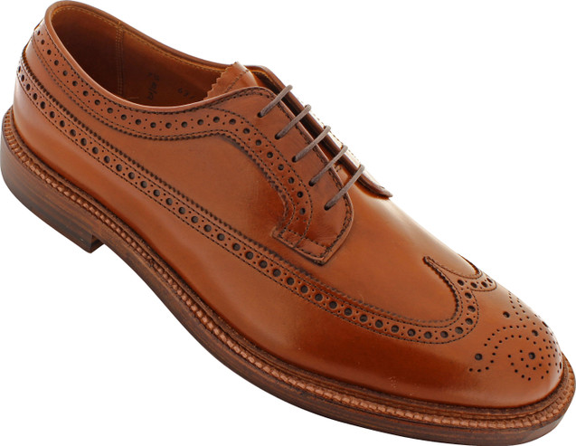 Alden Men's 979 - Long Wing - Burnished Tan Calfskin - Main Image