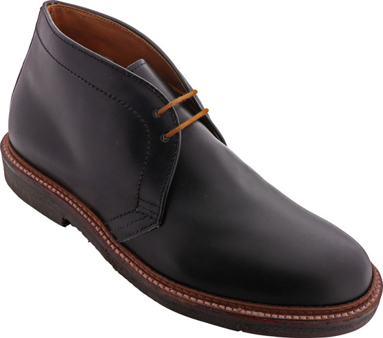 Alden Men's 1247 Chukka Boot Black Calfskin - Main Image
