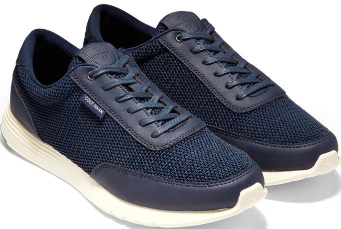 Cole Haan Men's Grand Crosscourt Knit Sneaker C29917 Marine Blue-Navy