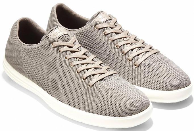 Cole Haan Men's Grand Crosscourt Knit Sneaker C27900 Rock Ridge Knit-Optic White