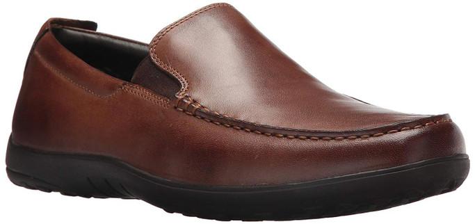 Cole Haan Men's New Harbor Venetian II Loafer C25768 Dark Brown