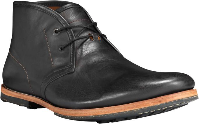 Timberland Men's Timberland Boot CoWodehouse Chukka TB075510001 Black Nubuck