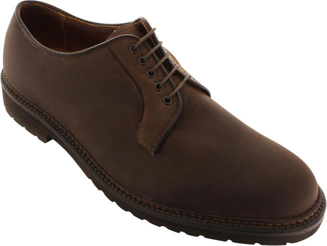 Alden Men's 9431S - Plain Toe Blucher - Tobacco Oiled Nubuck - Main Image