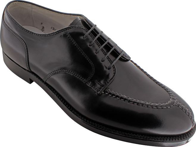 Alden Men's 2211 - NST Tie Blucher - Black Shell Cordovan - Main Image