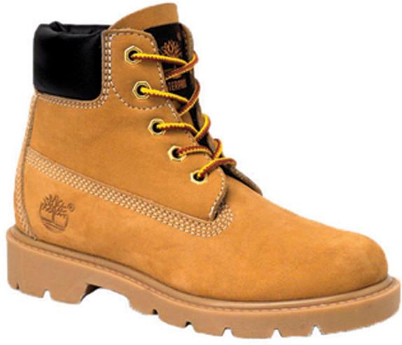 "Timberland Toddler Classic 6"" Waterproof Boot TB010860713 Wheat Nubuck - Main Image"