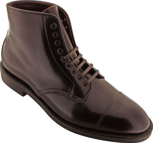 Alden Men's 4060 - Cap Toe Boot - Color 8 Shell Cordovan - Main Image