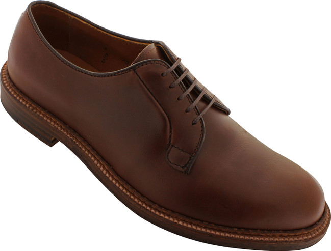 Alden Men's 95080 - Plain Toe Blucher - Brown Chromexcel - Main Image