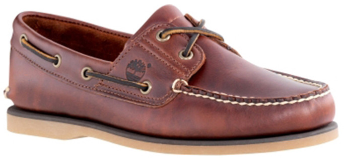 99504752a89c Timberland Men s TB025077214 - Classic 2-Eye Boat Shoe - The Shoe Mart