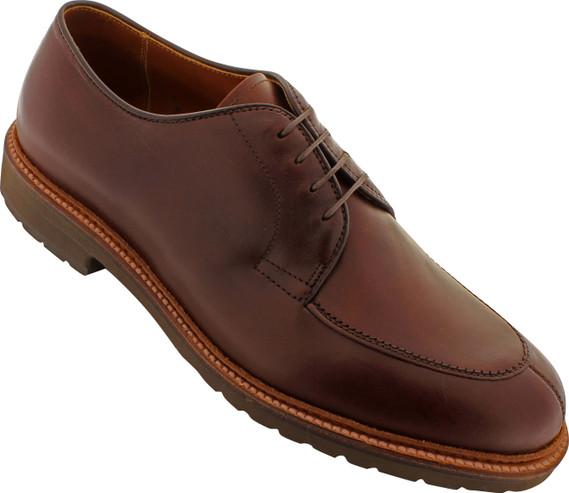 Alden Men's D5602 - Mocc Toe Blucher - Brown Chromexcel - Main Image