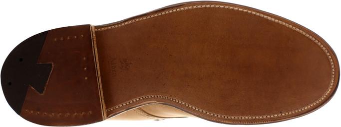 Alden Men's 86042H - 5 Eyelet Plain Toe Boot - Natural Chromexcel