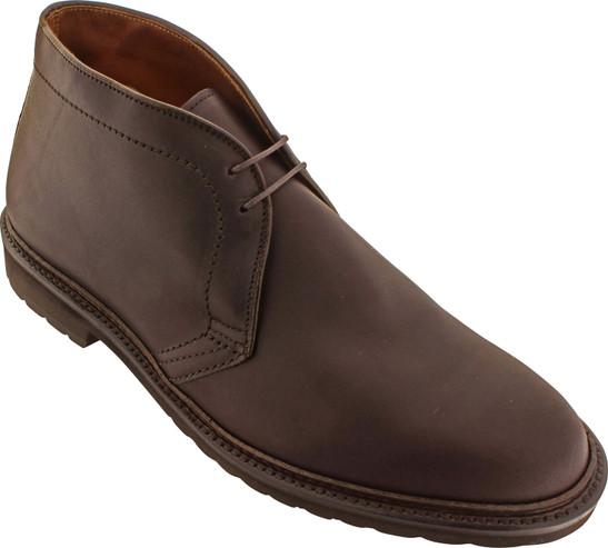 Alden Men's 1272S - Chukka Boot - Dark Brown Kudu
