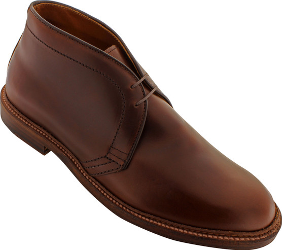 Alden Men's 13781 - Chukka Boot Leather Sole - Brown Chromexcel - Main Image
