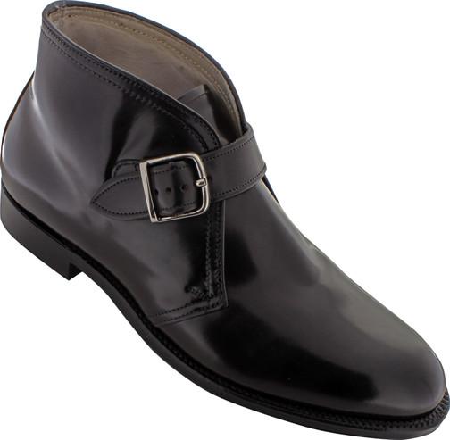 Alden Men's 91805 - George Boot - Black Shell Cordovan - Main Image