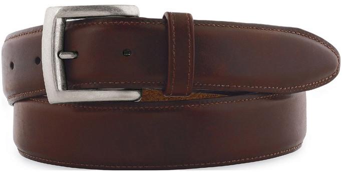 Johnston Murphy Men's 75-31361 - Waxed Leather Belt - Main Image