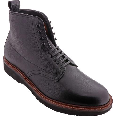 Alden Shoes Men's Plain Toe Boot D9841H Black Regina Grain Calf - Main Image