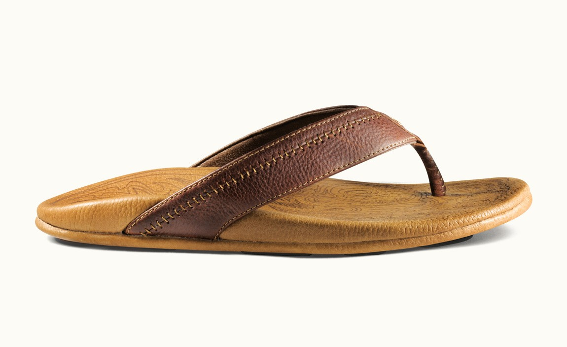 16170597410 Olukai Men s Hiapo 10101-4833 Dark Java-Toffee - The Shoe Mart
