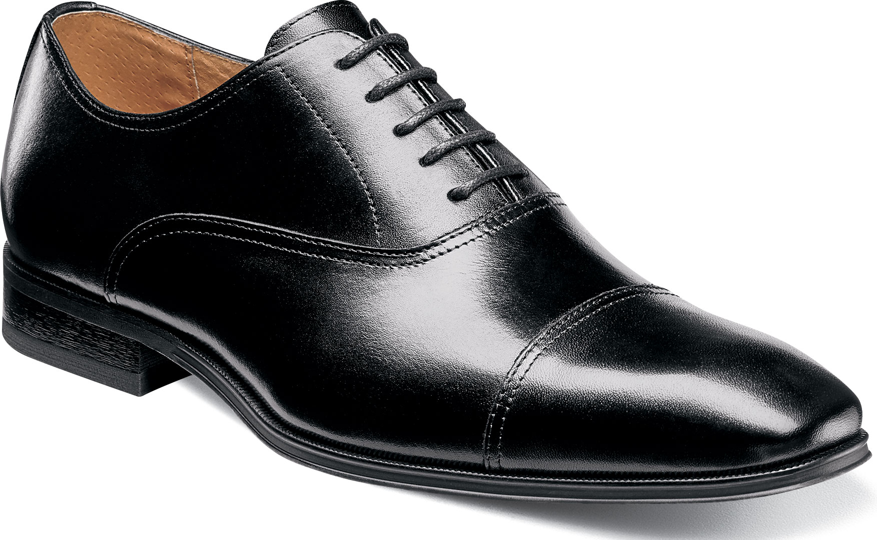 63f49d61c6858 Florsheim Men's Corbetta Cap Toe Oxford 14180-001 Black