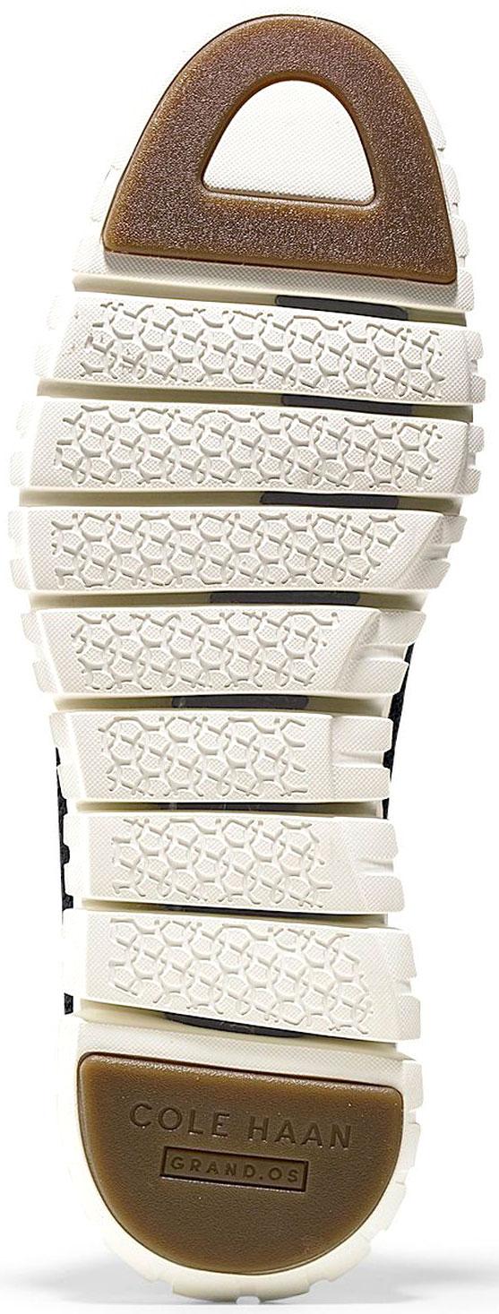 d973b0de645b7 Cole Haan Men's ZeroGrand Stitchlite Wingtip Oxford C24948 Black-Ivory