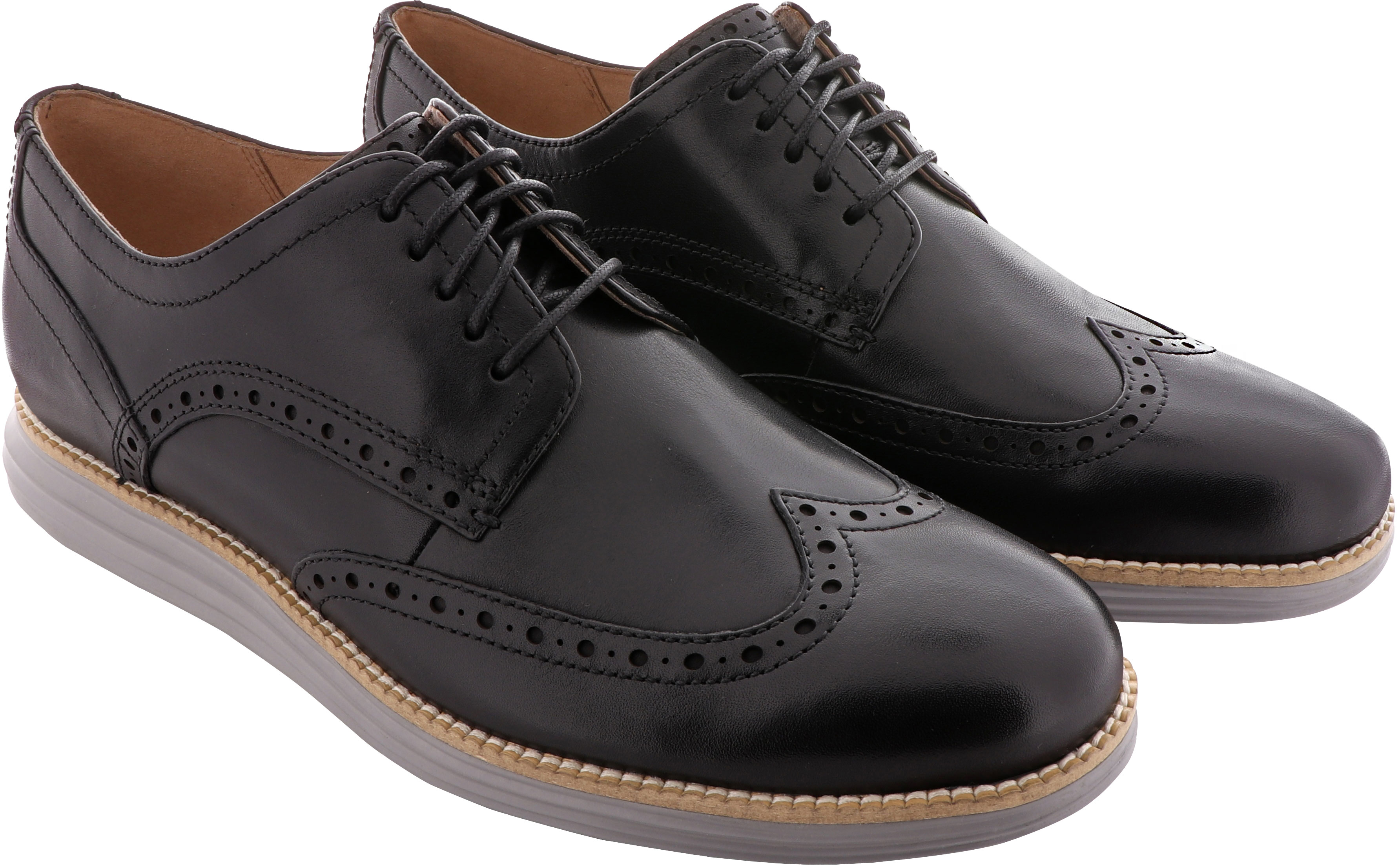 5d8afa2afd8f6 ... Cole Haan Men s W. Original Grand Shortwing C26470 Black  Leather-Ironstone · https   www.theshoemart.com product images images COL