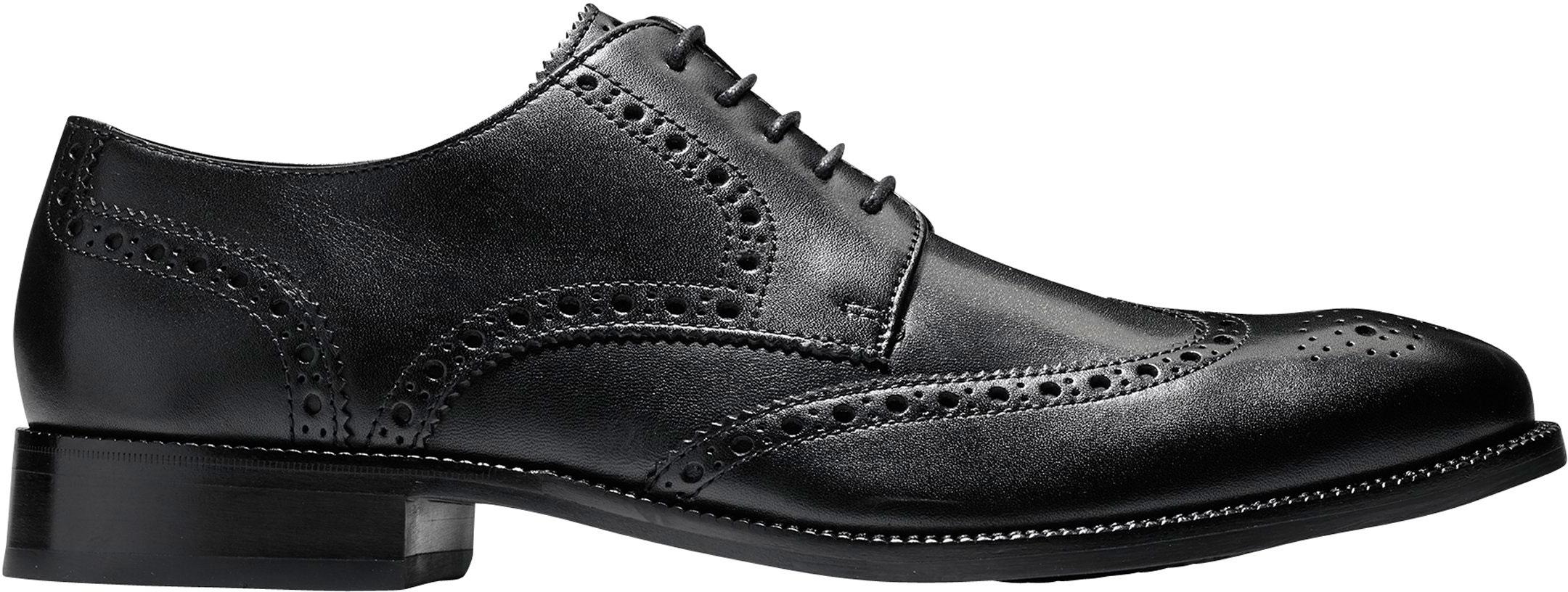 a1999ebbf08 Cole Haan Men's Benton Wingtip Oxford II C24117 Black - The Shoe Mart
