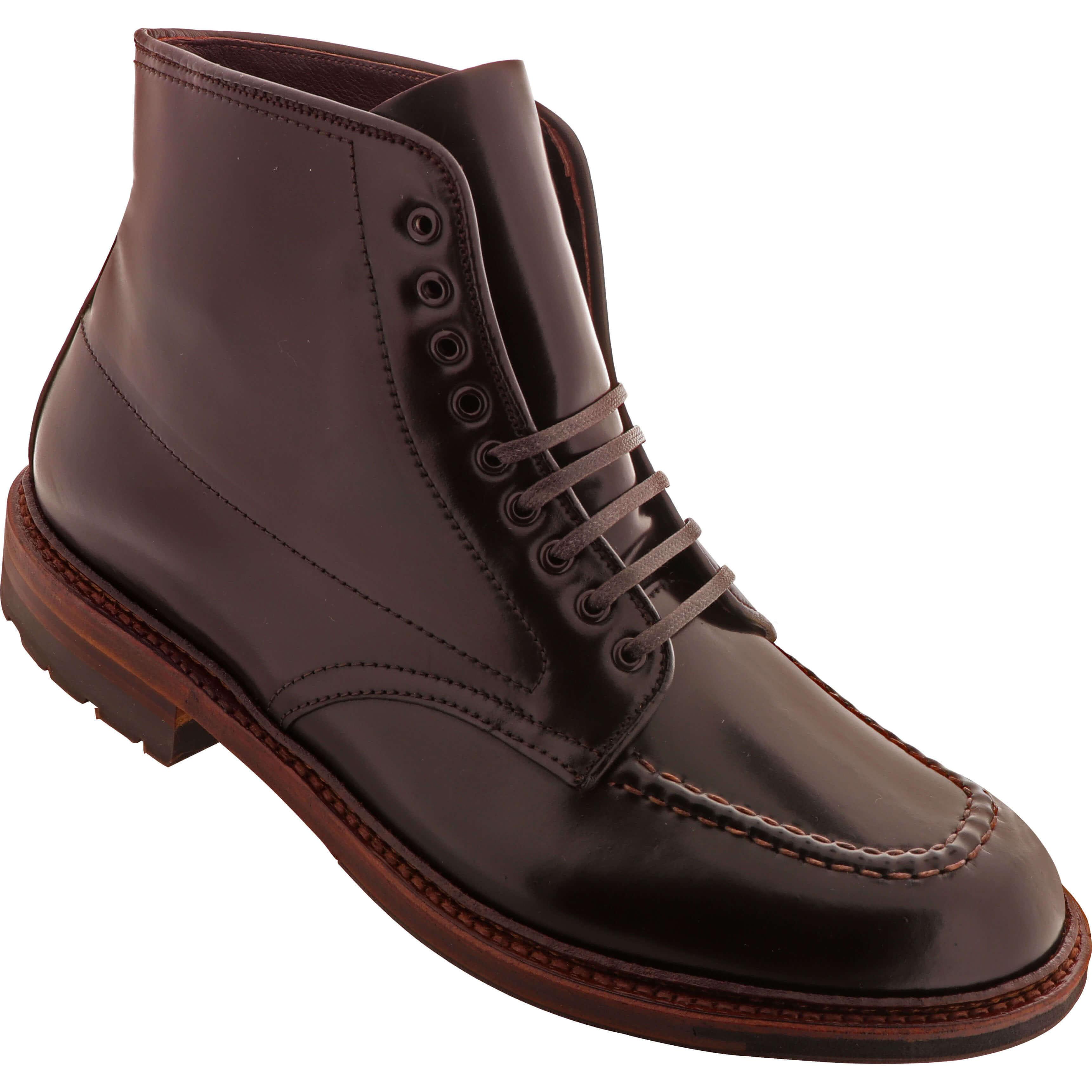 f48247ad89c Alden Shoes Men s Indy Boot Shell Cordovan Antique Edge D6947C Color ...