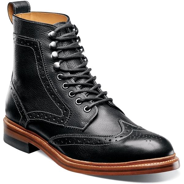 55a263a6c13 Stacy Adams Men's 00064-001 - Madison II Wingtip Boot