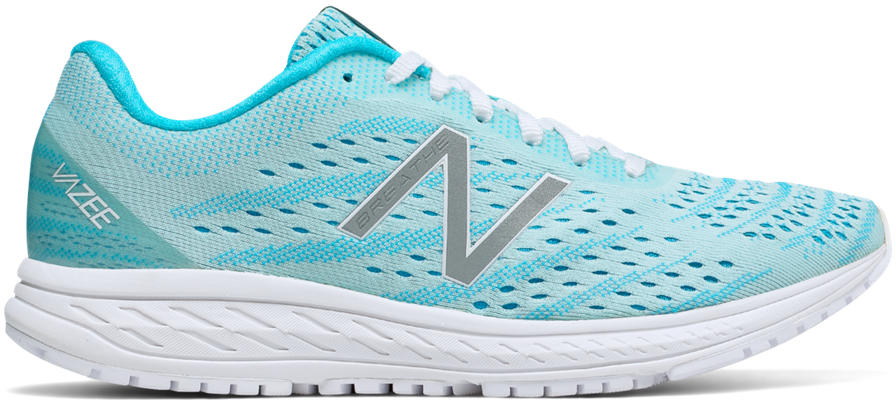 54ca59486d96 New Balance Women s Vazee Breathe v2 WBREAHB2 Aqua-White - The Shoe Mart