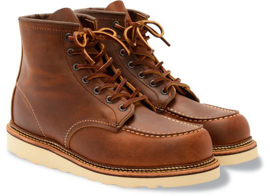 feda7bd445786 Red Wing Heritage Men's 6-Inch Classic Moc 1907 Copper - The Shoe Mart