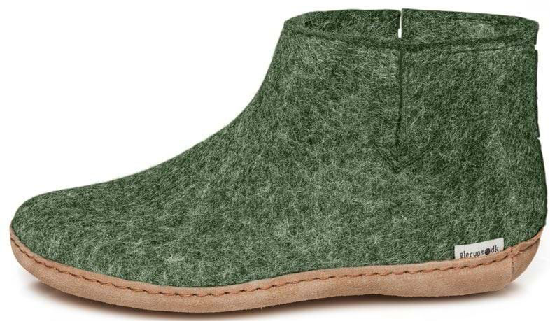 73bbbd0320b2 Glerups Unisex Felt Boots G-09 Forest - The Shoe Mart