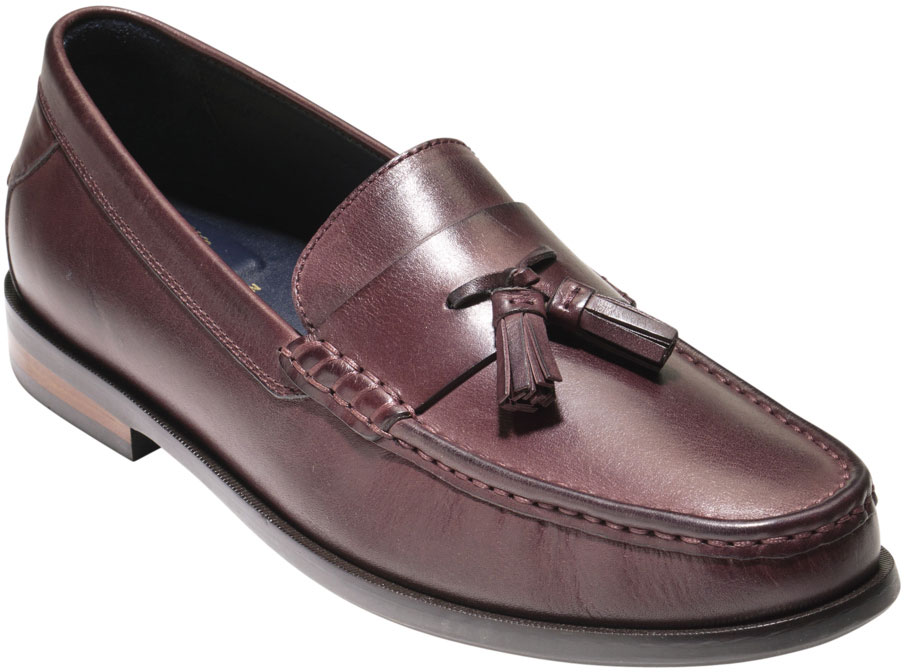 e21aefe9362 ... Cole Haan Men s Pinch Friday Tassel Contemporary Penny Loafer C25263  Cordovan Handstain ...