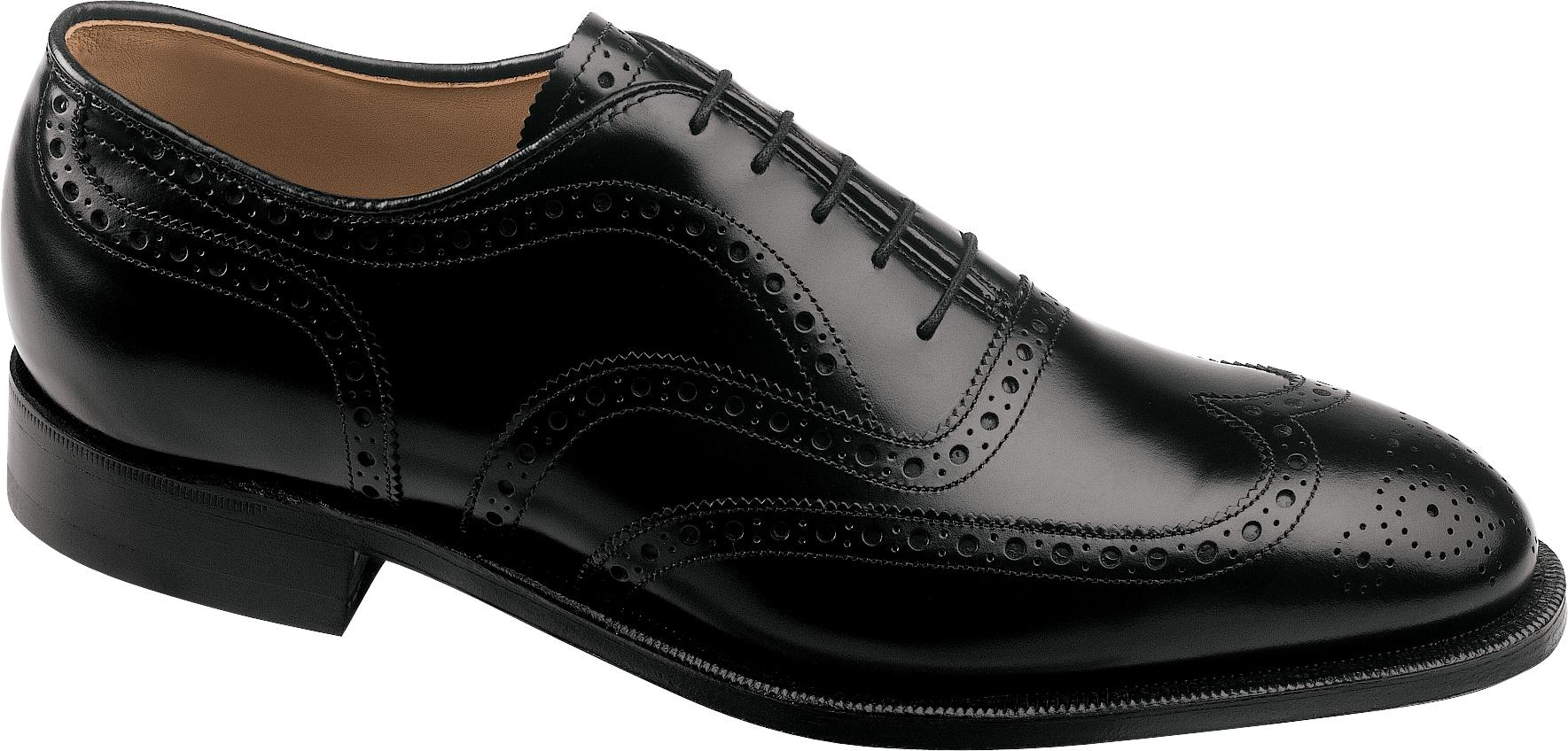Johnston Murphy Mens Waverly Wingtip 22 3501 Black The Shoe Mart