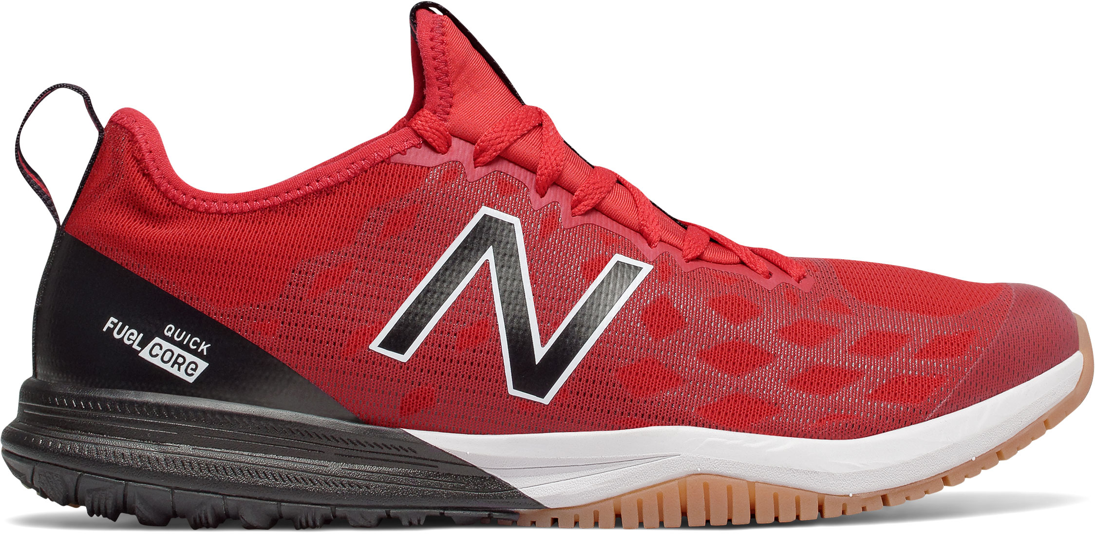 watch 00558 4b6bc New Balance Men's FuelCore Quick v3 MXQIKGR3 Team Red