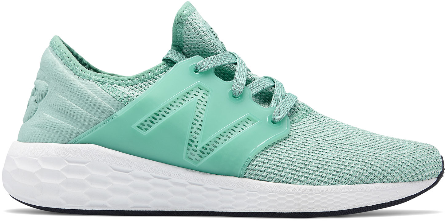 New Balance Women's Fresh Foam Cruz v2 Sport WCRUZRM2 Mineral Sage White