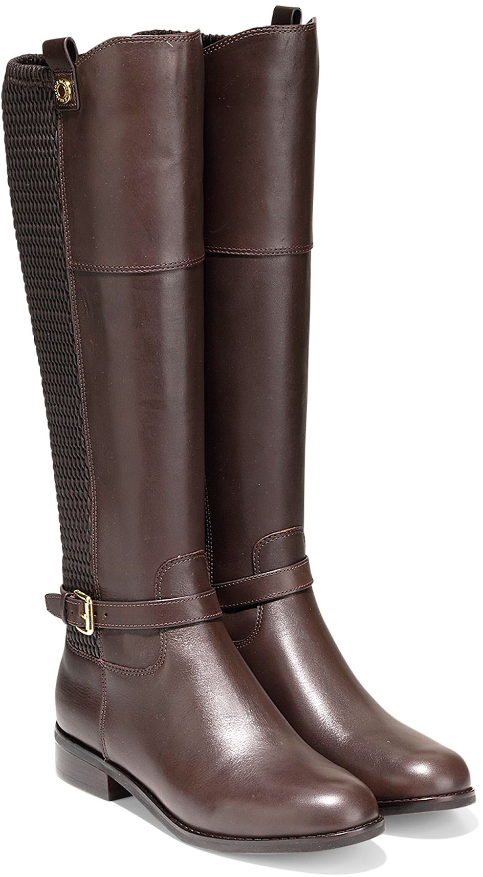 eabfe1e8a69 ... Knee High · Cole Haan Women s Galina Boot W07908 Java Leather-Weave  Stretch · https   www.theshoemart.com product images images COL . Tap to  expand