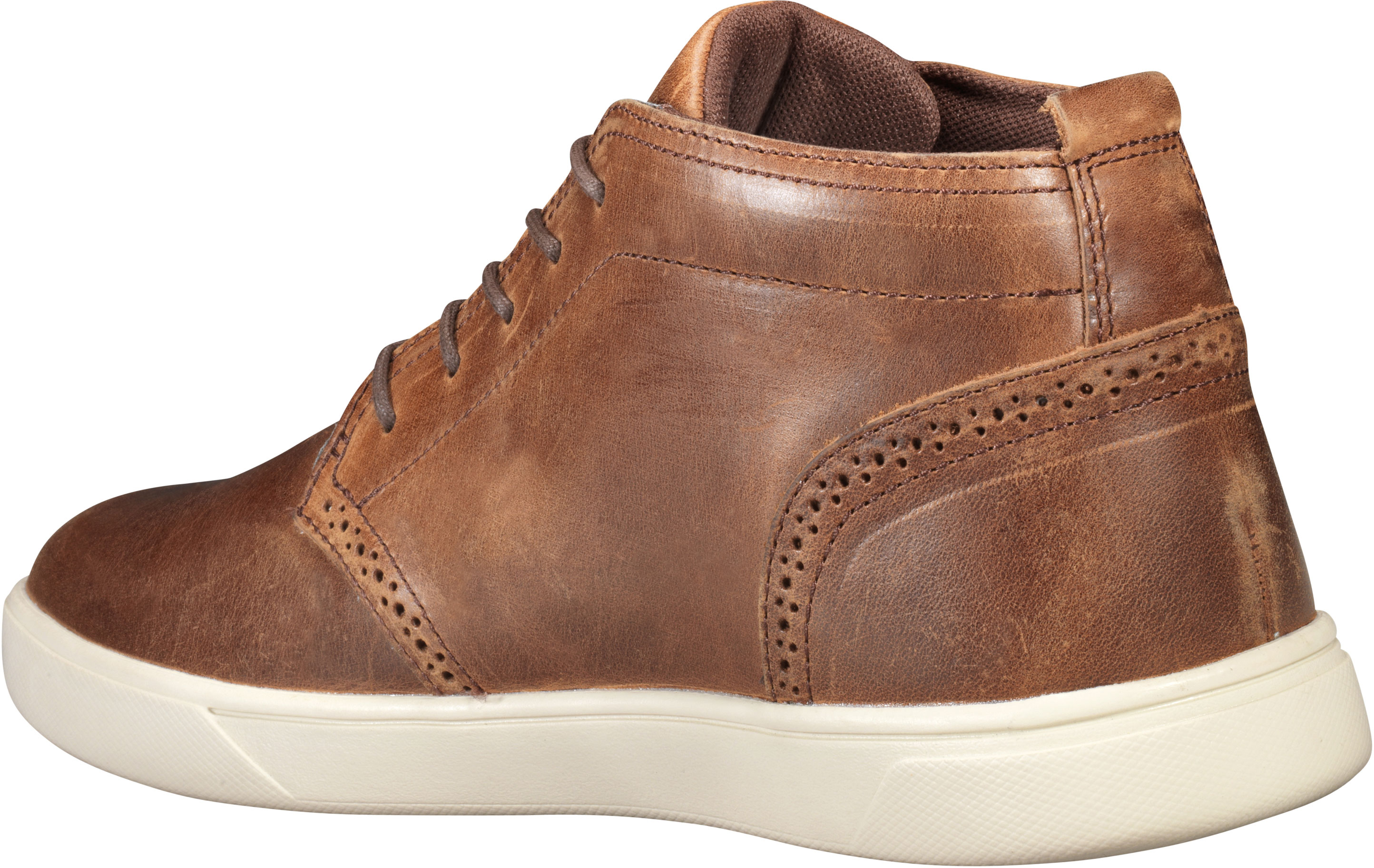 TIMBERLAND MEN'S GROVETON Leather And Fabric Light Brown