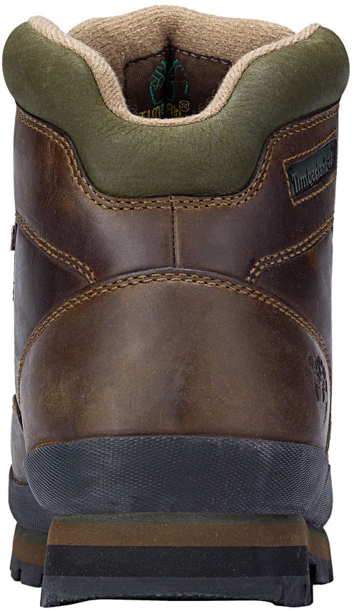 Timberland Men's Euro Hiker Leather TB095100214 Medium Brown Full Grain