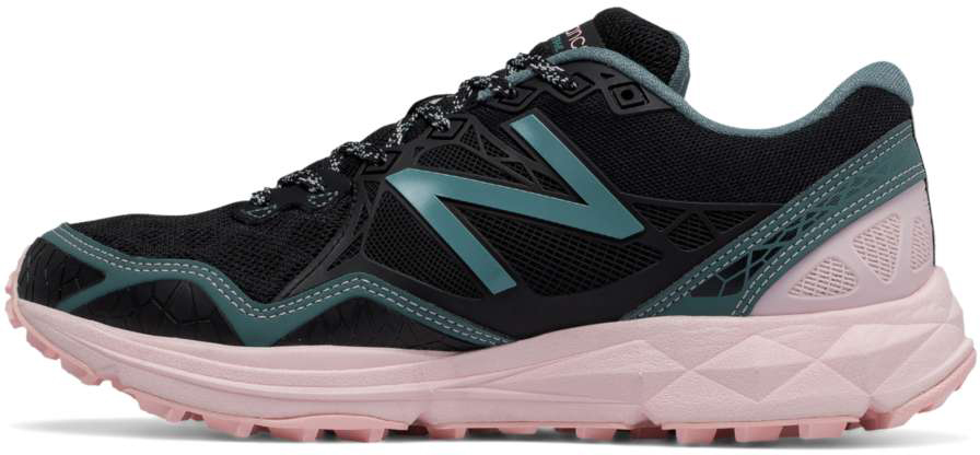 0429818ca55b0 New Balance Women's WT910v3 Trail WT910BP3 Black-Bleached Sunrise-Alpha Pink  ...