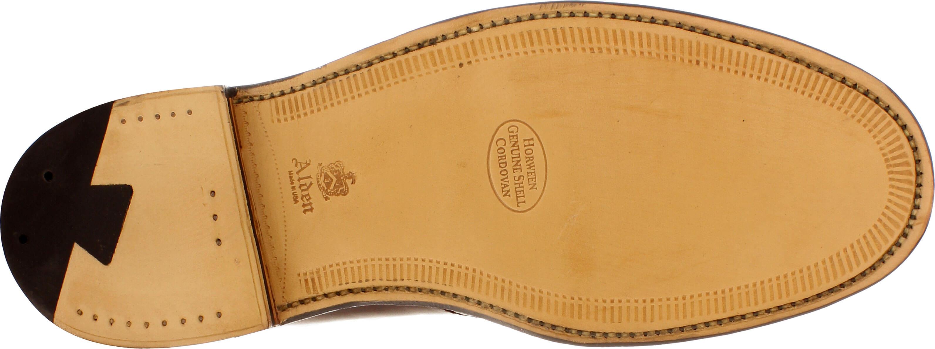 Alden Men's 1339 Chukka Boot Color 8 Shell Cordovan