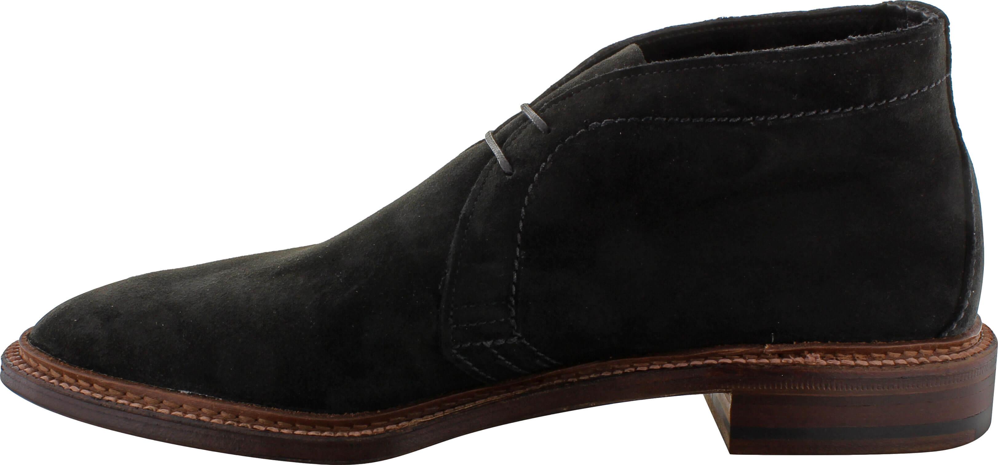 9b01b04d8c6 Alden Men's 1497 - Unlined Chukka Boot Flex Welt - Black Suede