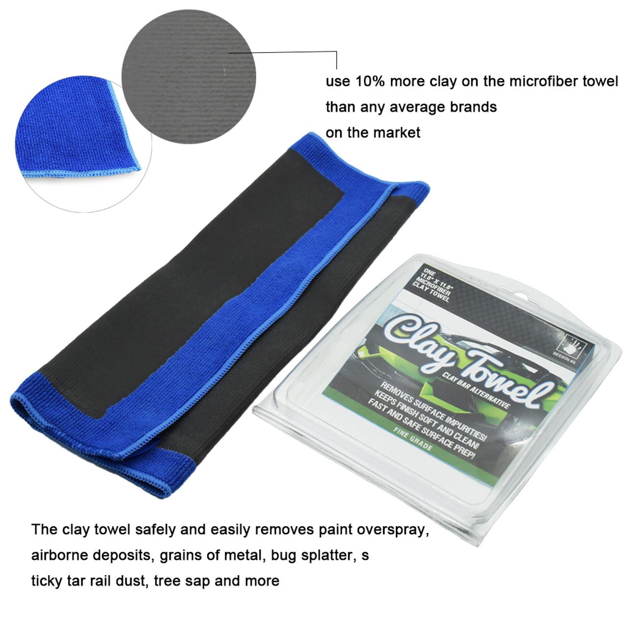 Denali Seekin 45 Microfiber clay Towel