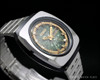 Very rare Citizen Automatic vintage watch, green iridescent dial!