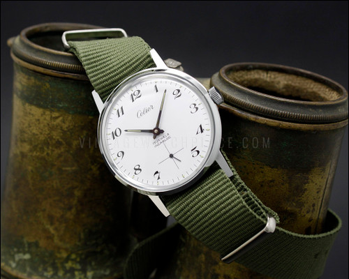 Celier vintage military style mechanical NOS Wehrmachtswerk W&W