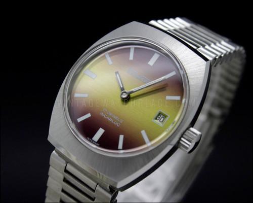 Duward vintage colorful mechanical watch