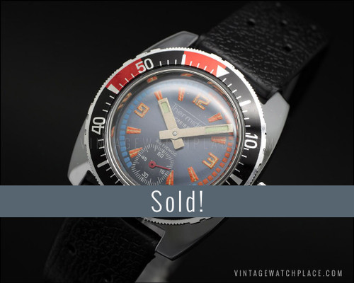NOS Ladies' Thermidor Diver's mechanical vintage watch