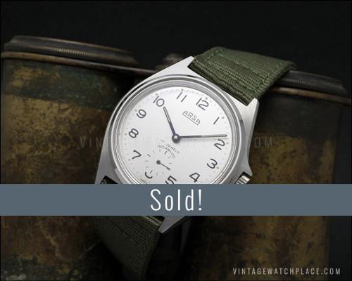 NOS Arsa (Auguste Reymond) Ultra rare military vintage mechanical watch Wehrmachtswerk