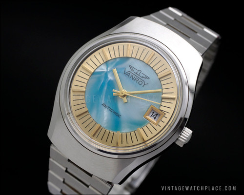 Vanroy mechanical New Old Stock vintage watch
